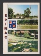DF / 71 SAÔNE ET LOIRE / EPINAC-LES-MINES / LE CAMPING EN BORD DE RIVIÈRE - France