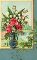 Postcard / CP / Postkaart / RELIEF / Fleurs / Flowers / Je Pense à Vous / Printed In Germany / Ser. 7250 / 1910 - Sonstige