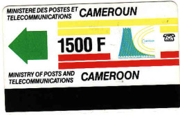 Cameroun 1500 F, Magnetic Phonecard - Cameroon