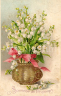 Postcard / CP / Postkaart / RELIEF / Fleurs / Flowers / Souvenir De Printemps / No 7720 - Sonstige