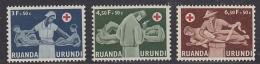 Ruanda-Urundi 1957  Rode Kruis 3w ** Mnh (29165) - Ruanda-Urundi