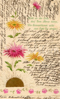 Postcard / CP / Postkaart / RELIEF / Fleurs / Flowers / Sonnenblumen / Sunflowers / 1912 - Sonstige