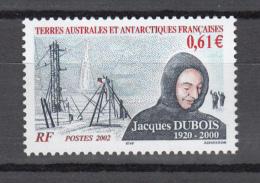 TAAF FSAT 2002,1V, Jacques Dubois,,MNH/Postfris(A2437) - Klimaat & Meteorologie