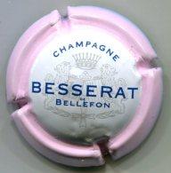 CAPSULE-CHAMPAGNE BESSERAT DE BELLEFON N°33 Contour Rose 32 Mm - Besserat De Bellefon