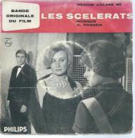 "45 Tours EP - B.O. Du Film "" LES SCELERATS ""  ( MICHELE MORGAN / ROBERT HOSSEIN  ) Roman: FREDERIC DARD - Soundtracks, Film Music"
