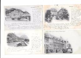 9006 - 38 - Lot De 8 CPA Précurseurs De GRENOBLE - Cartoline