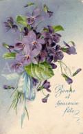 Postcard / CP / Postkaart / RELIEF / Fleurs / Flowers / Bonne Et Heureuse Fête / No 7872 - Sonstige