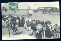 Cpa Du 85  Les Sables D' Olonne  -- Un Jour De Régates à La Chaume -- Courses De Canards   LIOB49 - Sables D'Olonne