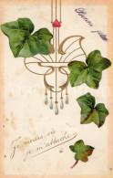 Postcard / CP / Postkaart / RELIEF / Fleurs / Flowers / Art Nouveau / Belle Epoque / Ed. P F B No 5689 / 1906 - Sonstige