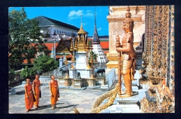 Wat Phra Keo, Temple Of Emerald Buddha, Bangkok / Postcard Circulated - Thailand