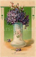 Postcard / CP / Postkaart / RELIEF / Fleurs / Flowers / Je Vous Aime / Printed In Germany / Ser. 51792 / 1914 - Sonstige