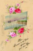 Postcard / CP / Postkaart / CELLULOID / Handpainted - Sonstige