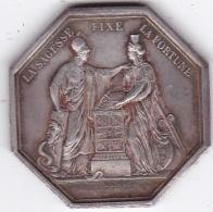 Médaille Banque De France Argent An VIII - Royal / Of Nobility