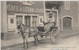88.( Madame Delait En Voiture ) CACHET AU DOS - Thaon Les Vosges