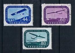 Bulgarien 1956 Flugzeuge Mi.Nr. 1002/04 Kpl. Satz Gestempelt - Gebruikt
