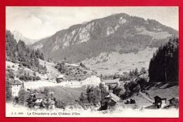 Suisse. La Chaudanne Près De Château D'Oex.  Ca 1900 - VD Vaud