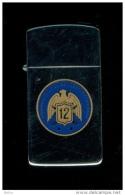 ZIPPO - COMMANDER CRUISER DESTROYER GROUP - 12 - Slim - 1988 - Ref, 282 - Zippo