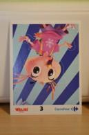 Stickers Walibi The Battle Game - Wab Or Skunx ? - Carrefour - N° 3 - Adesivi