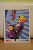 Stickers Walibi The Battle Game - Wab Or Skunx ? - Carrefour - N° 4 - Adesivi