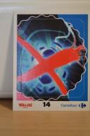 Stickers Walibi The Battle Game - Wab Or Skunx ? - Carrefour - N° 14 - Adesivi