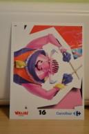 Stickers Walibi The Battle Game - Wab Or Skunx ? - Carrefour - N° 16 - Adesivi