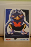 Stickers Walibi The Battle Game - Wab Or Skunx ? - Carrefour - N° 17 - Adesivi