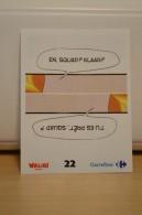 Stickers Walibi The Battle Game - Wab Or Skunx ? - Carrefour - N° 22 - Adesivi