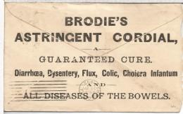 USA 1893 NEW ORLEANS A CHICAGO SOBRE ENTERO POSTAL COLON PUBLICIDAD MEDICINA FARMACIA ENFERMEDAD - Pharmacie