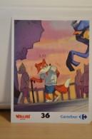 Stickers Walibi The Battle Game - Wab Or Skunx ? - Carrefour - N° 36 - Adesivi