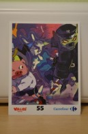 Stickers Walibi The Battle Game - Wab Or Skunx ? - Carrefour - N° 55 - Adesivi