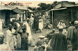 GUINEE - BONGUETA - N°11 Une Rue - Seins Nus - Marché - Guinea
