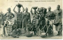 SOUDAN - Types De Femmes Soudanaises - Seins Nus - Sudan
