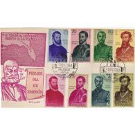 ESSPD1298STV-LFT1527.Spain,Espagne,Sobres Del 1º Dia.FORJADORES DE AMERICA.1960 (Ed 1298/05). - 1931-Hoy: 2ª República - ... Juan Carlos I