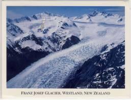 NEW ZEALAND - Franz Josef Glacier, Westland, Large Format,  Nice Stamp - Nouvelle-Zélande