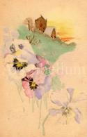 Postcard / CP / Postkaart / Fleurs / Flowers / Raphael Tuck / Where Flowers Grow Series No 4066 / 1913 - Tuck, Raphael