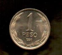 OFERTA - CHILE -  1 Peso 1990 SC  KM216 - Chile