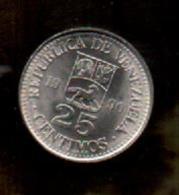 OFERTA - VENEZUELA - 25 Centimos 1990  KM50 - Venezuela