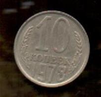 OFERTA - RUSIA - RUSSIA - 10 KOPEK 1978 - Rusia