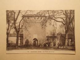 Carte Postale -  CREMIEU (38) - Porte De La Loi  (121/30A) - Crémieu
