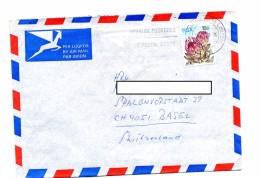 Lettre Flamme East London Code Postal Sur Fleur - Afrique Du Sud (1961-...)