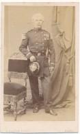 Photo CDV - Officier à Identifier - Prévot, Paris - Old (before 1900)