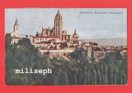 SEGOVIA - Panorama - 1927 - Castille-et-León - Espagne    (4202) - Segovia
