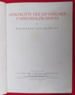 W.V.SEIDLITZ - JAPANESE COLORED WOODCUT, Japan Art, 1921. Year - Bücher, Zeitschriften, Comics