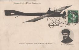 Fete D' Aviation Saone Et Loire Monoplan Deperdissun  Par Lacrouze - Aviateurs