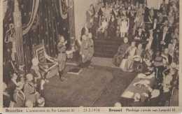 Bruxelles - Prestation De Serment Du Roi Leopold III - Eedaflegging Van Koning Leopold III - Pas Circulé - TBE - Festivals, Events