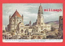 JERUSALEM - Eglise De La Sainte Vierge Sur Le Mont Sion - 1909 - De Epfig ( Alsace Occupée ) Vers Rêves -   (4204) - Pakistan