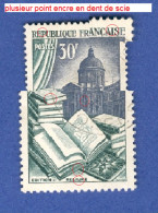 FRANCE ANNEE 1954 N° 971 EDITION RELIURE TRACE CHARNIERE OBLITERE 5 SCANNE DESCRIPTION - Curiosities: 1950-59 Used
