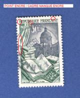 1954 N° 971 EDITION RELIURE  OBLITÉRÉ - Varieteiten: 1950-59 Afgestempeld