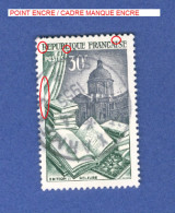 1954 N° 971 EDITION RELIURE  OBLITÉRÉ - Errors & Oddities