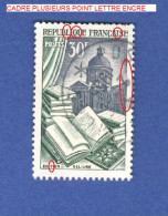VARIÉTÉS  1954 N° 971 EDITION RELIURE  OBLITÉRÉ - Varieteiten: 1950-59 Afgestempeld